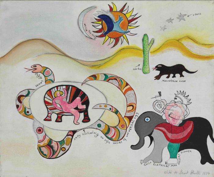 Niki de Saint Phalle-Untitled-1977