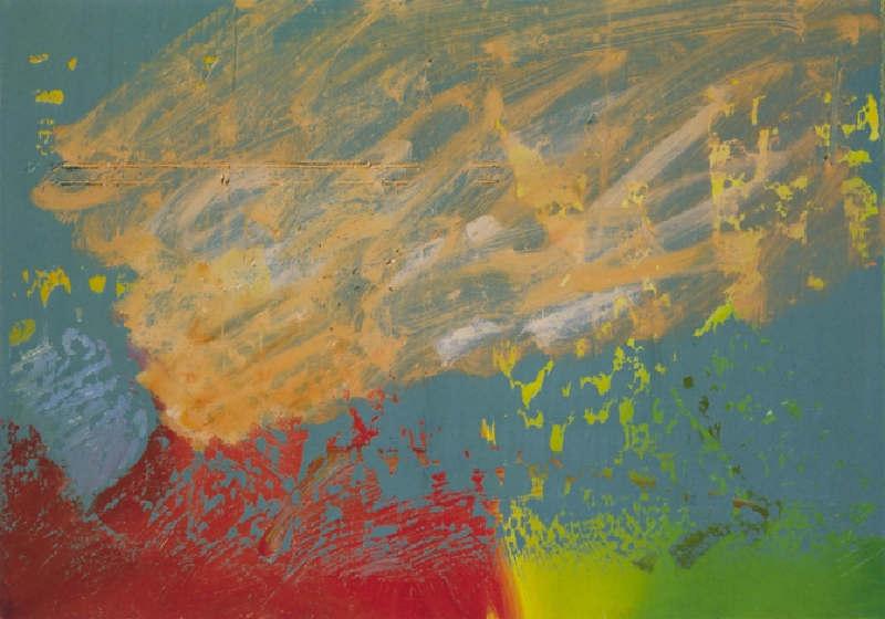 Gerhard Richter-Abstraktes Bild 465-2 (Abstract Painting 465-2)-1981