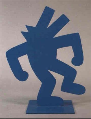 Keith Haring-Keith Haring - Blue Dog-1985