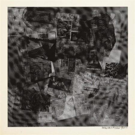 Robert Rauschenberg-Robert Rauschenberg - Surface Series # 41 (From Currents) (F. 112)-1970