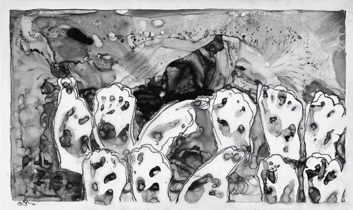 Jasper Johns-Untitled-2009