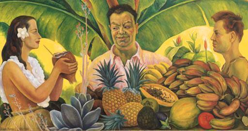 Diego Rivera-Encuentro tropical-1944