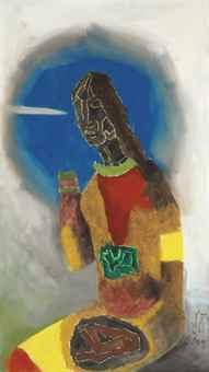 Maqbool Fida Husain-Raisa-1971
