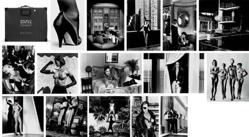 Helmut Newton-Private Property, Suite I, II, III-1984