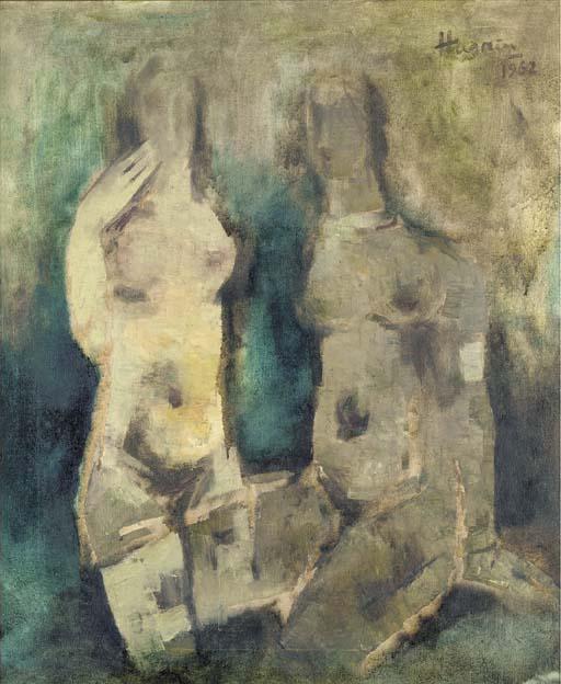 Maqbool Fida Husain-Nudes-1962