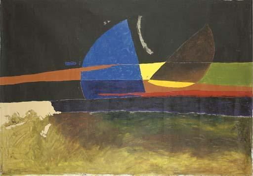 Maqbool Fida Husain-Theorem Thirteen-1973