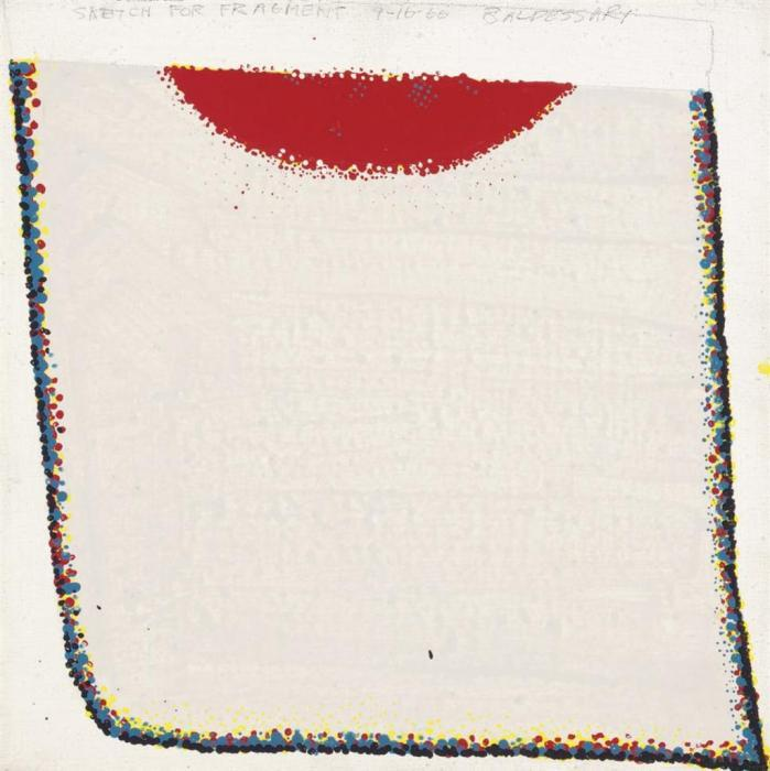 John Baldessari-Sketch for Fragment-1966