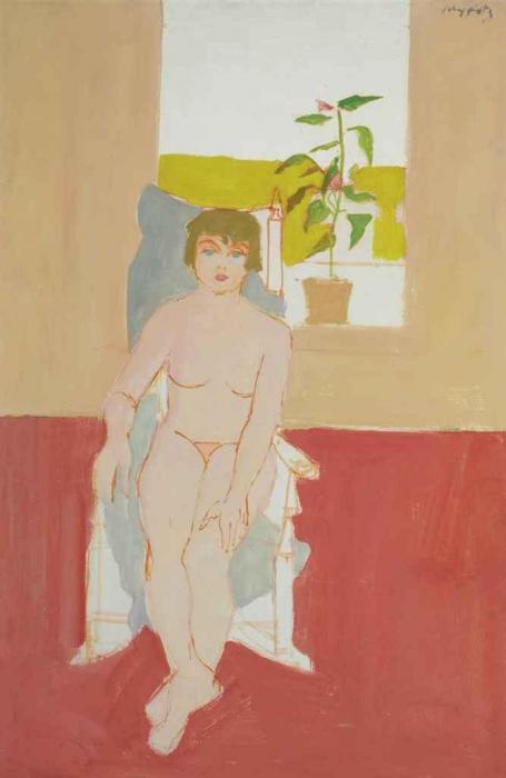 Alex Katz-Anne-1956