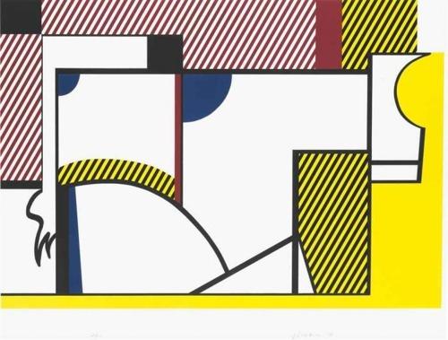 Roy Lichtenstein-Bull IV (from the Bull Profile series)-1973