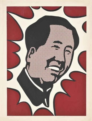 Roy Lichtenstein-Mao-1971