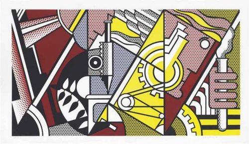 Roy Lichtenstein-Peace Through Chemistry I, from Peace Through Chemistry-1970