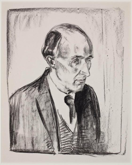 Edvard Munch-Munch und Director Ludvig Didrichsen (Sch. 461; W. 566); Fredrick Delius (Sch. 473; W. 640)-1916