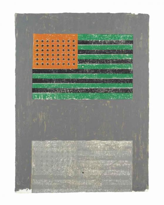 Jasper Johns-Flags-1968