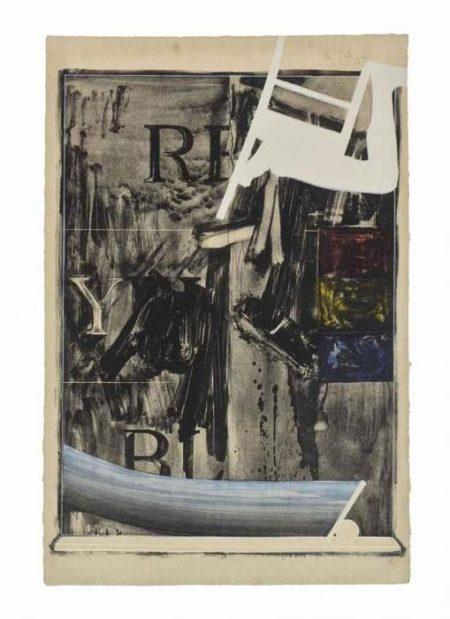 Jasper Johns-Wachtman (Ulae 32)-1967