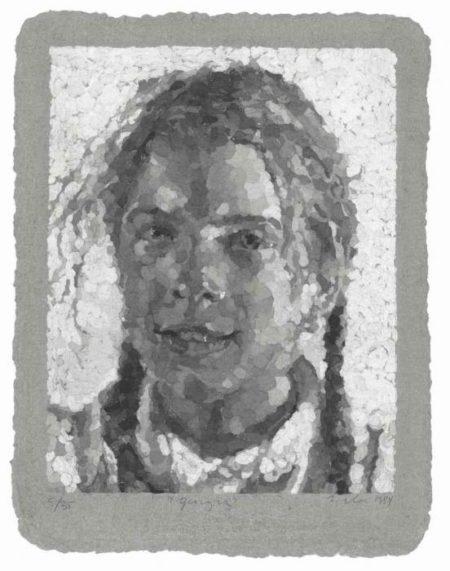 Chuck Close-Georgia-1984