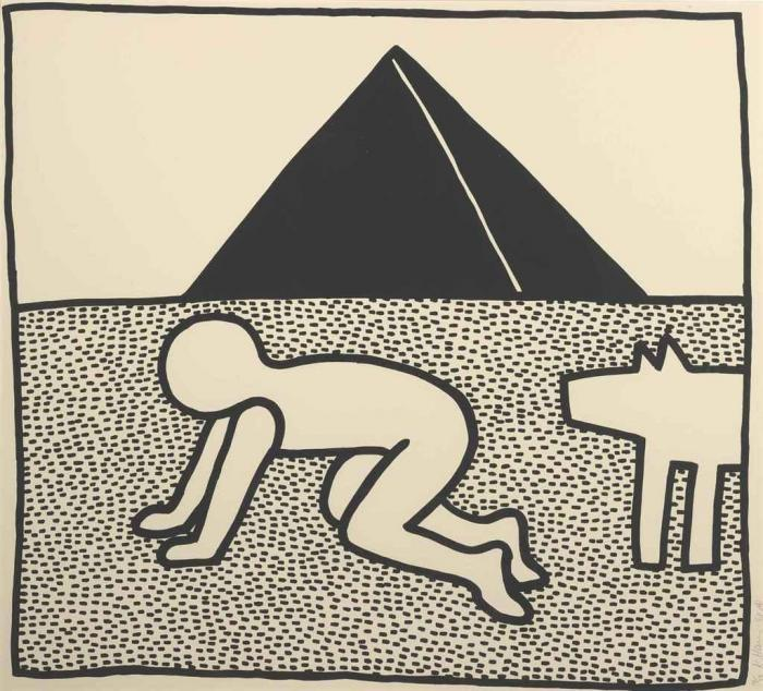 Keith Haring-Keith Haring - The Blueprint Drawings: one plate-1990