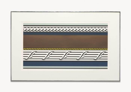 Roy Lichtenstein-Entablature IV-1976