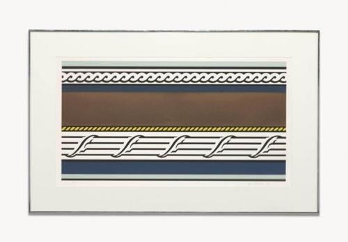 Roy Lichtenstein-Entablature IV-1976