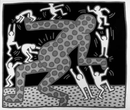 Keith Haring-Keith Haring - Untitled, from Untitled 1-5-1983