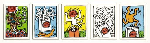 Keith Haring-Keith Haring - Lucky Strike-1987
