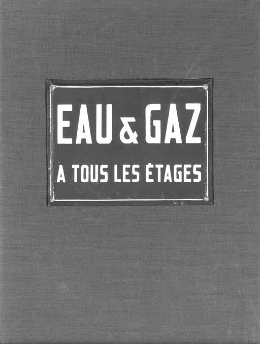 Marcel Duchamp-Robert Lebel: (i) Eau and Gaz a tous les etages (see S. 560); (ii) Large Glass (see S. 558); (iii) Untitled (see S. 558)-1959