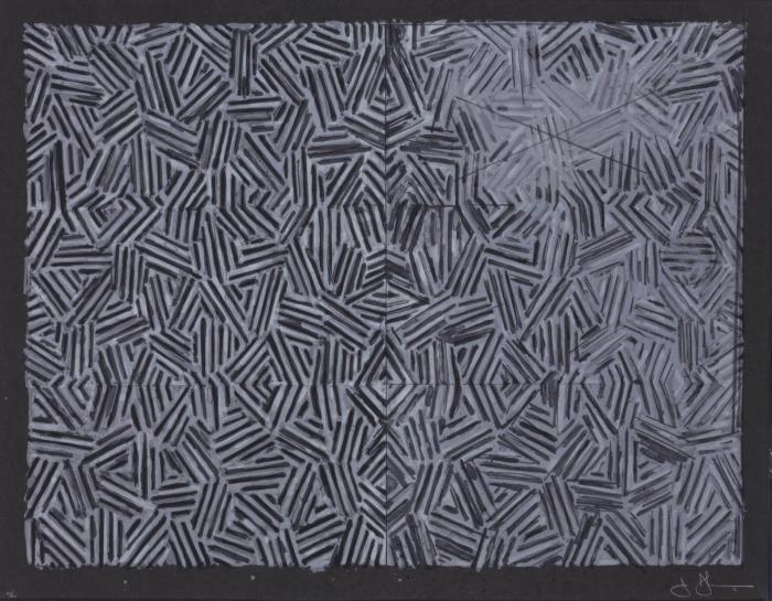 Jasper Johns-Corpse and Mirror (ULAE 168)-1976