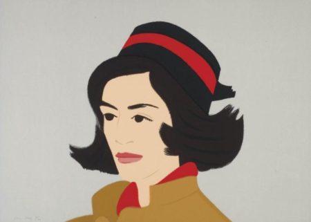 Alex Katz-Green Jacket; Ada in Hat; Seatshirt II-1990