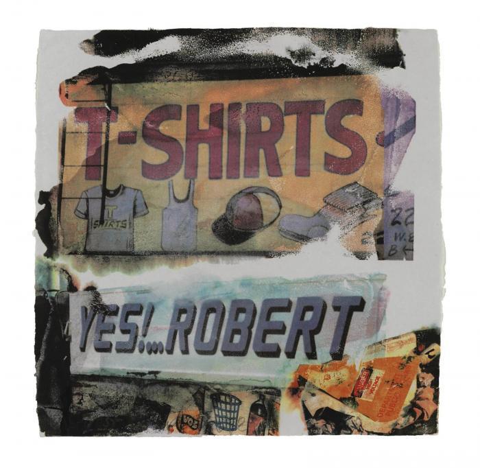 Robert Rauschenberg-Robert Rauschenberg - L.A. Uncovered # 1-1998