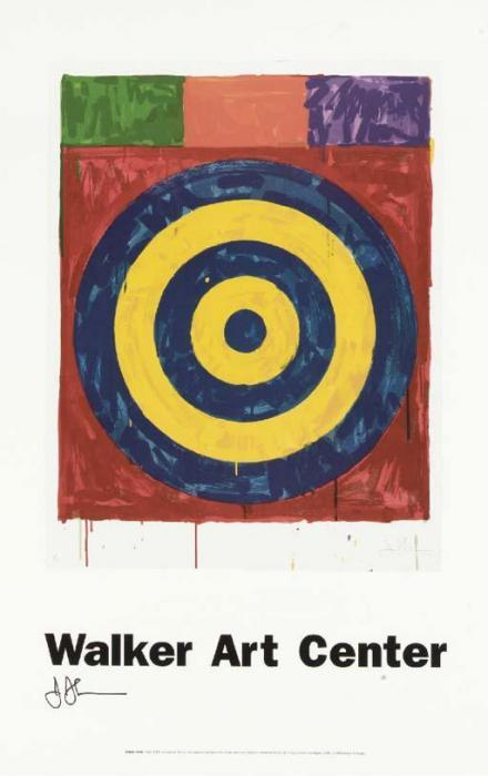 Jasper Johns-Walker Art Center Posters-(i) Merce Cunningham; (ii) Target; (iii) Flags I-1990