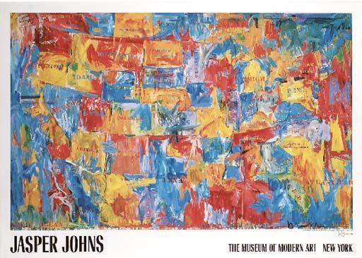 Jasper Johns-M.O.M.A Posters-