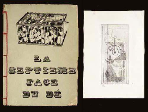 Marcel Duchamp-Coffee Mill (Schwarz 398; and 444); La Septieme Face du dee: Poemes-Decoupages-1947