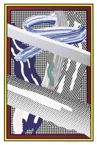 Roy Lichtenstein-Reflections on Expressionist Painting-1990