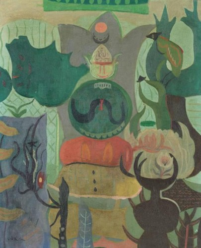 Roy Lichtenstein-Untitled-1949