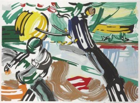 Roy Lichtenstein-The Sower (from Landscape Series)-1985