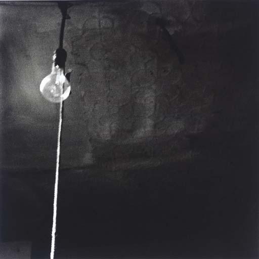 Robert Rauschenberg-Robert Rauschenberg - Ceiling + Light Bulb-1950
