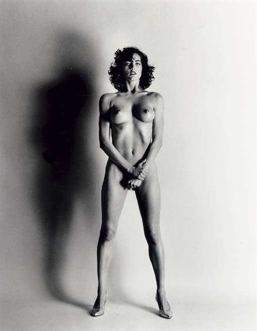 Helmut Newton-Big Nude III, Henrietta (1980)-1980