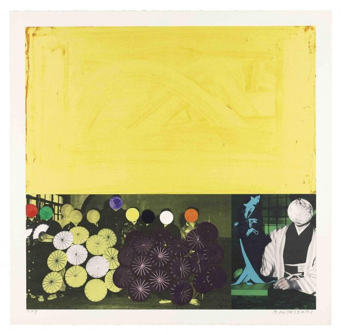 John Baldessari-Japanese (Yellow), from Cliche (C.H. 76)-1995