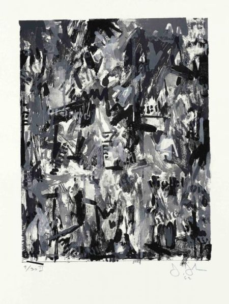 Jasper Johns-False Start II (ULAE 10)-1962