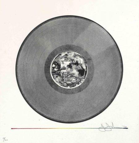 Jasper Johns-Scott Fagan Record (ULAE 85)-1970