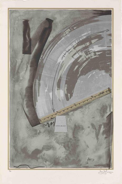 Jasper Johns-Good Time Charley (ULAE 103)-1972