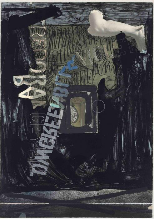 Jasper Johns-Decoy II (ULAE 125)-1973