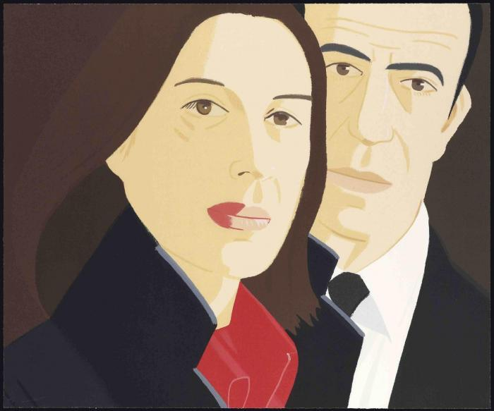Alex Katz-Ada and Alex / Alex and Ada-1984