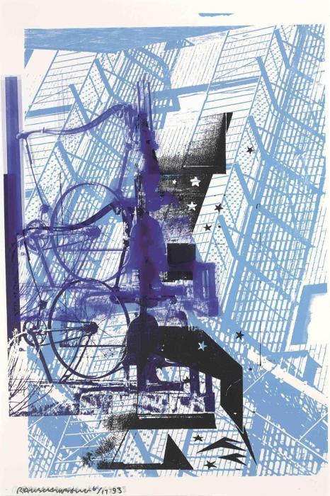 Robert Rauschenberg-Robert Rauschenberg - Prime Pump (From ROCI USA (Wax Fire Works))-1993