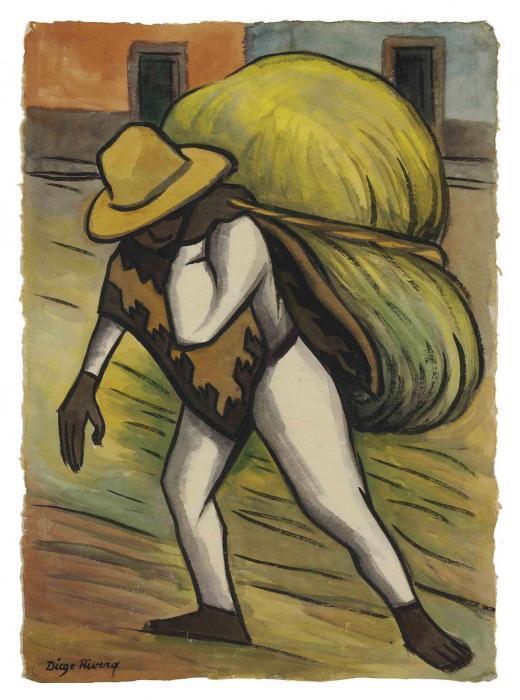 Diego Rivera-Cargador-