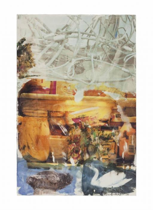 Robert Rauschenberg-Robert Rauschenberg - Rehearsal (Anagram)-1996
