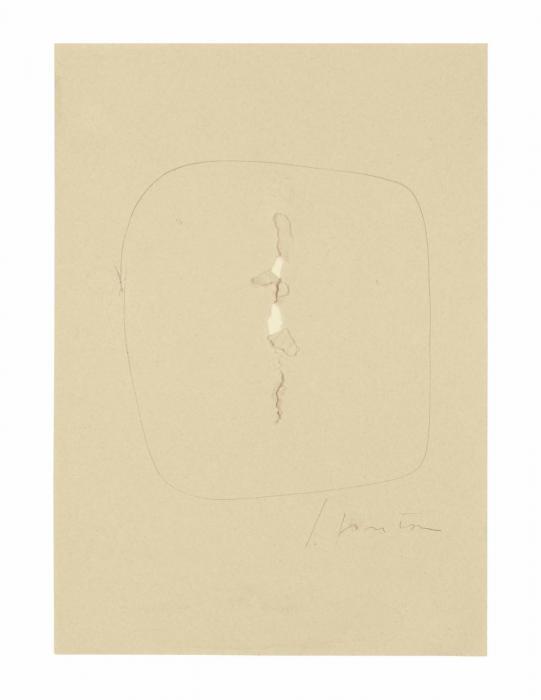 Lucio Fontana-Untitled-1963