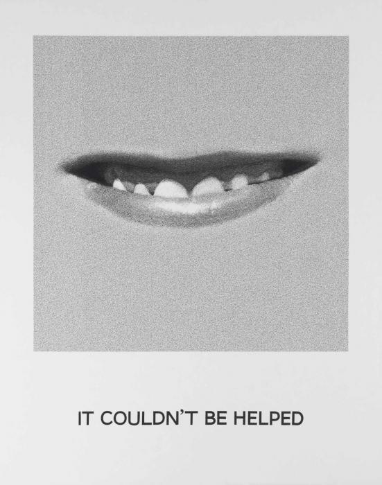 John Baldessari-Goya Series: It Couldn't Be Helped-1997