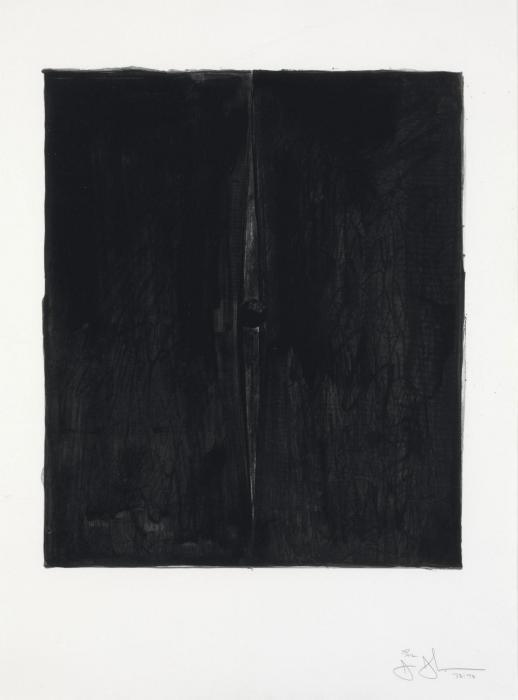 Jasper Johns-Painting with a Ball (ULAE 124), (Untilted)-1973
