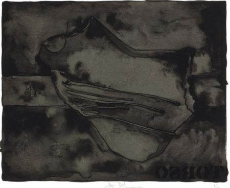 Jasper Johns-Torso (ULAE 139)-1974