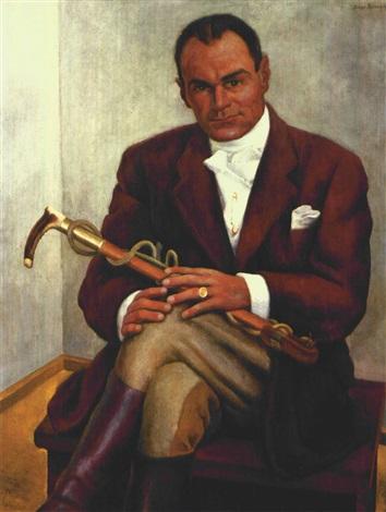 Diego Rivera-Retrato de un caballero-1938